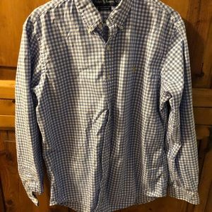 Ralph Lauren Custom Fit Large Gingham Check Shirt